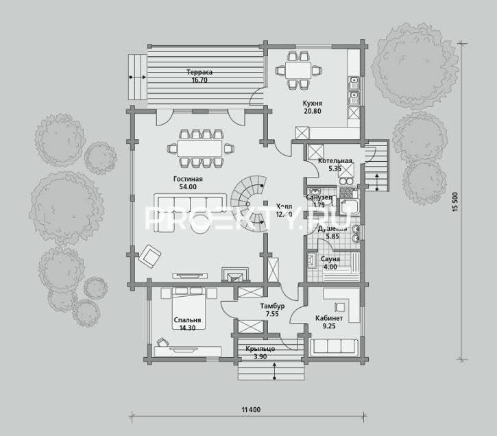 План проекта Б 222