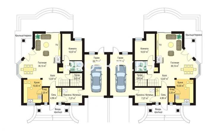 План проекта Дом на Медаль