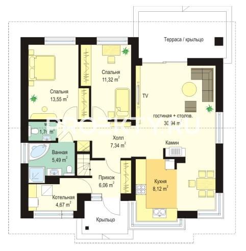 План проекта Дом для троих