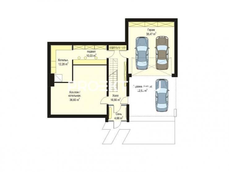 План проекта Дом на горке