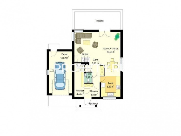 План проекта Первый дом-3