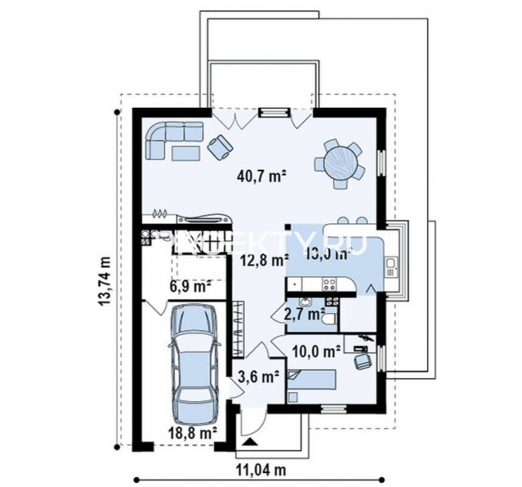 План проекта Z116