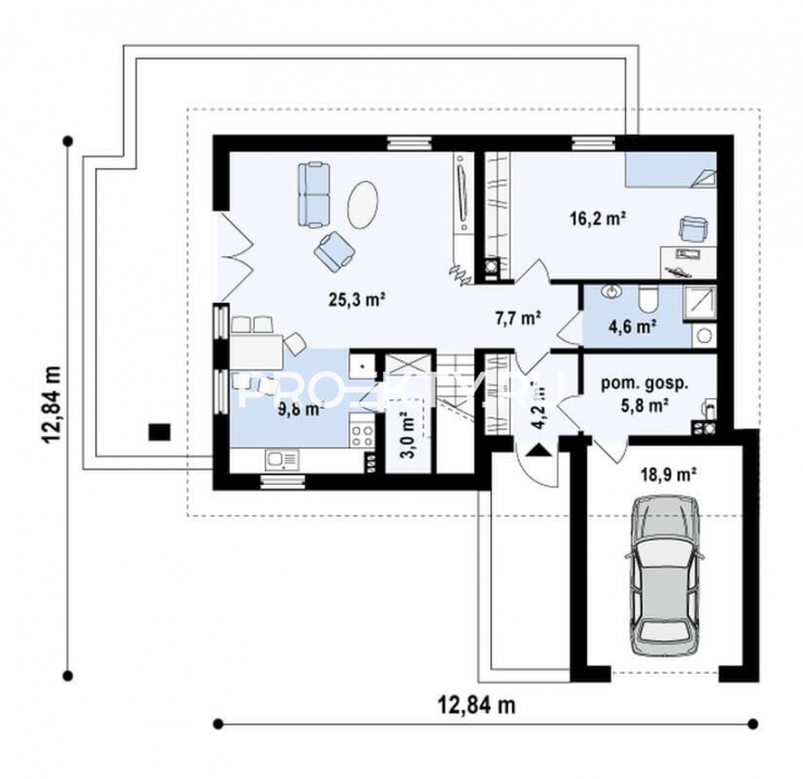 План проекта Z168