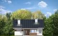 Фасад проекта Дом для троих (миниатюра)
