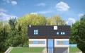 Фасад проекта Дом на горке (миниатюра)