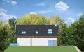Фасад проекта Дом на горке - 2