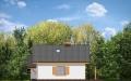 Фасад проекта Пчелка с гаражом - 3